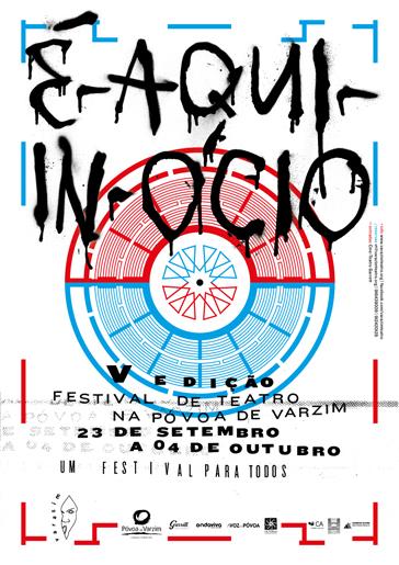 """Festival de Teatro """"É-Aqui-In-Ócio"""""""
