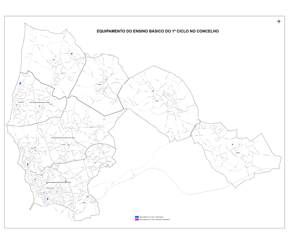 Mapa de equipamento EB1