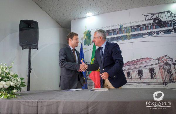 """""""Dia histórico"""" para a Póvoa de Varzim: assinado acordo para as obras de reabilitação e ampliação do Centro Hospitalar"""