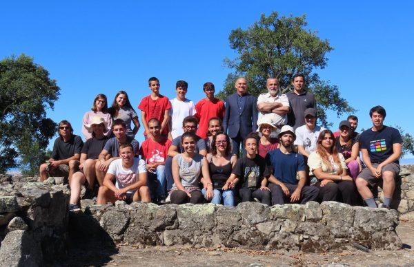 Visita do Vice-Presidente aos trabalhos arqueológicos na Cividade