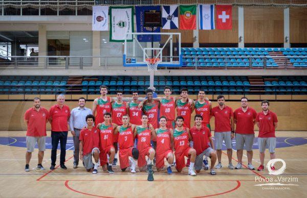 Elite do basquetebol internacional no Pavilhão Municipal