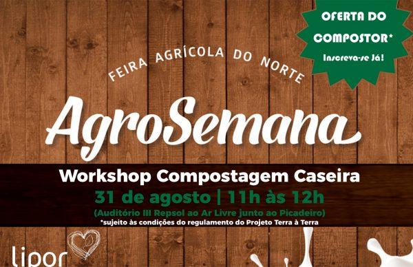 Workshop de Compostagem Caseira na AgroSemana
