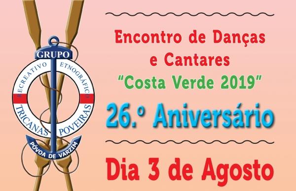 Tricanas Poveiras promovem Encontro de Danças e Cantares Costa Verde 2019