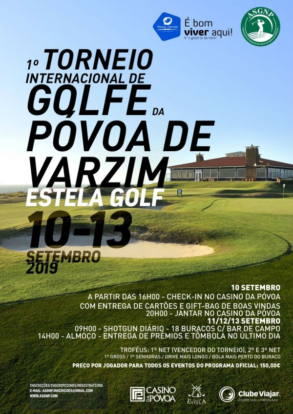 1º Torneio Internacional de Golf da Póvoa de Varzim