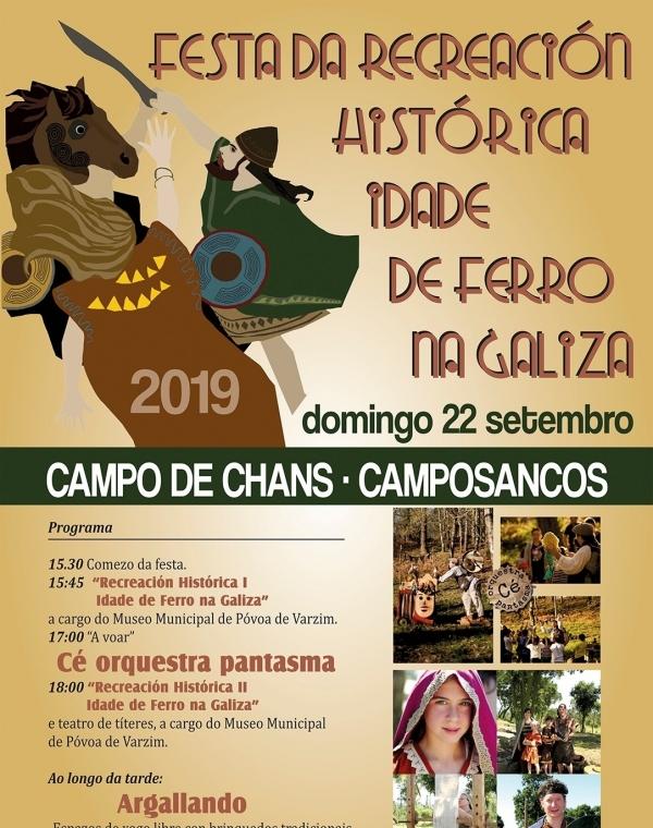 """Recreação histórica """"Castrejos e Romanos"""""""