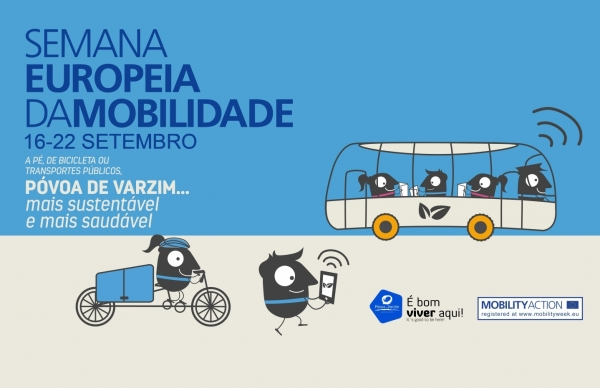 Semana Europeia da Mobilidade: Póvoa de Varzim… mais sustentável e mais saudável