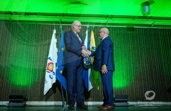 Ministro da Agricultura distinguiu Comissário Europeu da Agricultura na Póvoa de Varzim