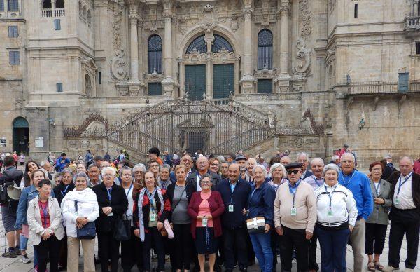 COL visita Santiago de Compostela