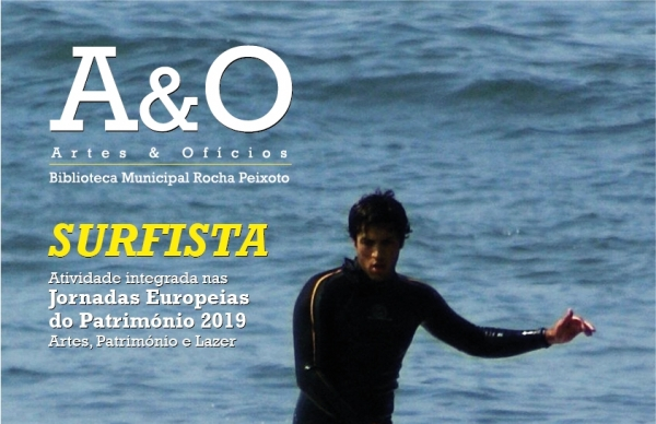 Surfista e bodyboarder no Artes & Ofícios