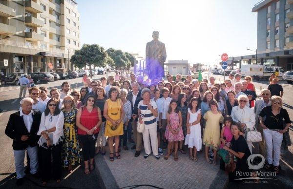 Inauguração do Monumento de Homenagem a António dos Santos Graça