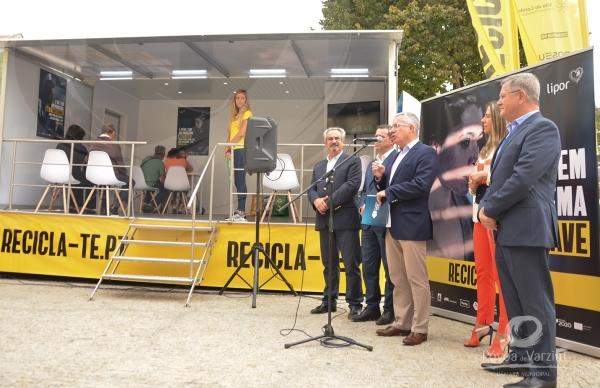 """""""Hoje é o dia em que decidimos agitar"""": Lipor lança Campanha de Comunicação para Promoção da Reciclagem na Póvoa de Varzim"""