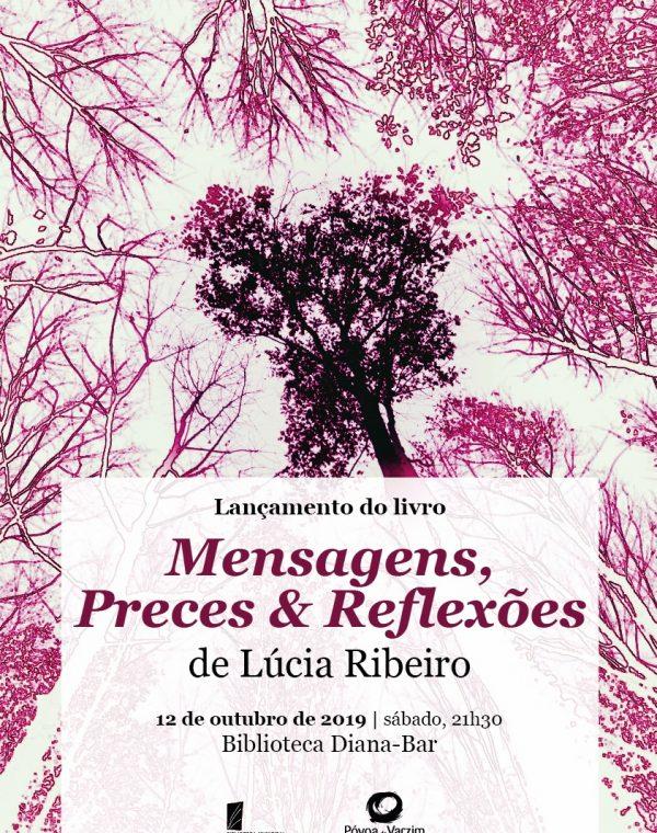 """Lançamento do livro """"Mensagens, Preces & Reflexões"""""""