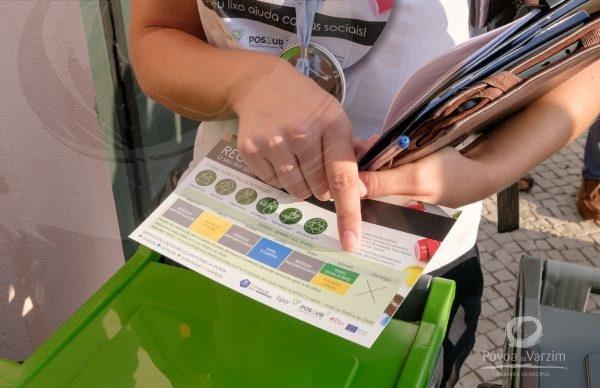 Um ano depois, recolha porta-a-porta supera meta: 275 toneladas de resíduos recicláveis