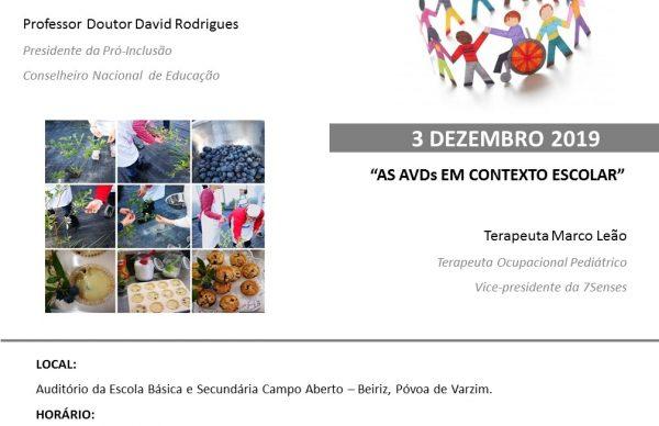 """Ciclo de Conferências """"Incluir Beiriz"""": 4ª edição arranca a 30 de outubro"""