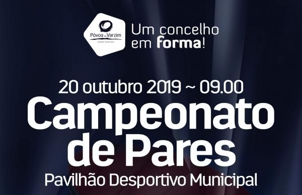 Campeonato de Pares dá pontapé de saída no PDTM 2019/2020
