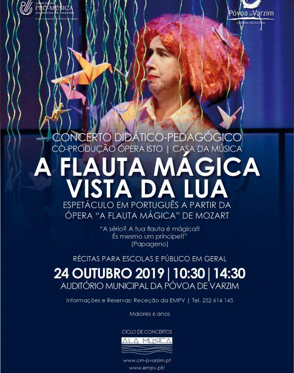 """Concerto """"A flauta mágica vista da lua"""""""