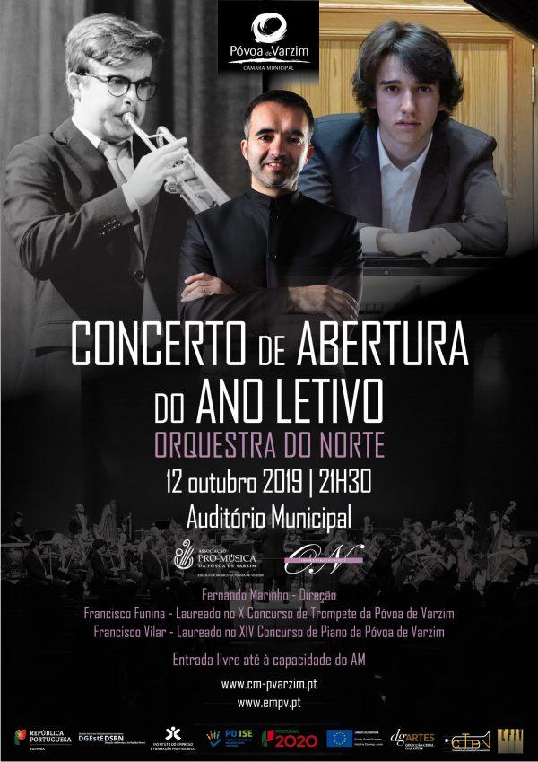 Concerto de Abertura do Ano Letivo com a Orquestra do Norte