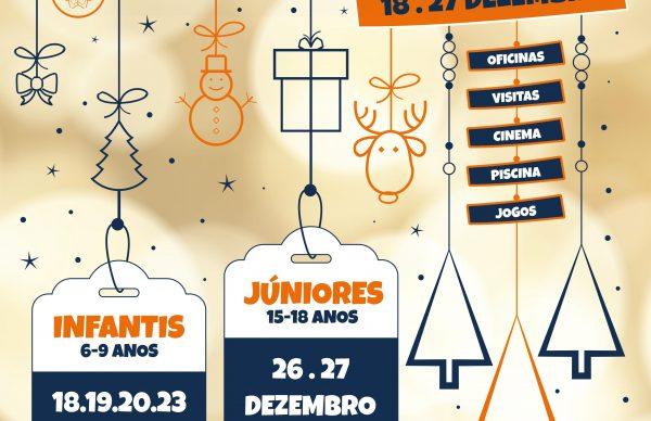 """""""Dá-te Férias! – Natal 2019"""": Inscrições"""