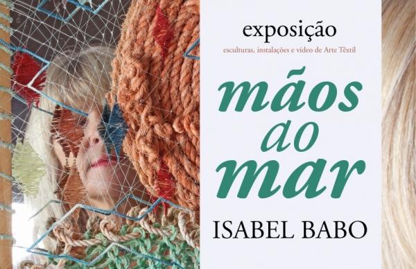 """""""mãos ao mar"""" de Isabel Babo em exposição na Biblioteca Municipal"""