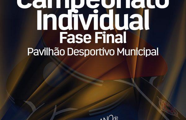 Fase Final do Campeonato individual de Ténis de Mesa
