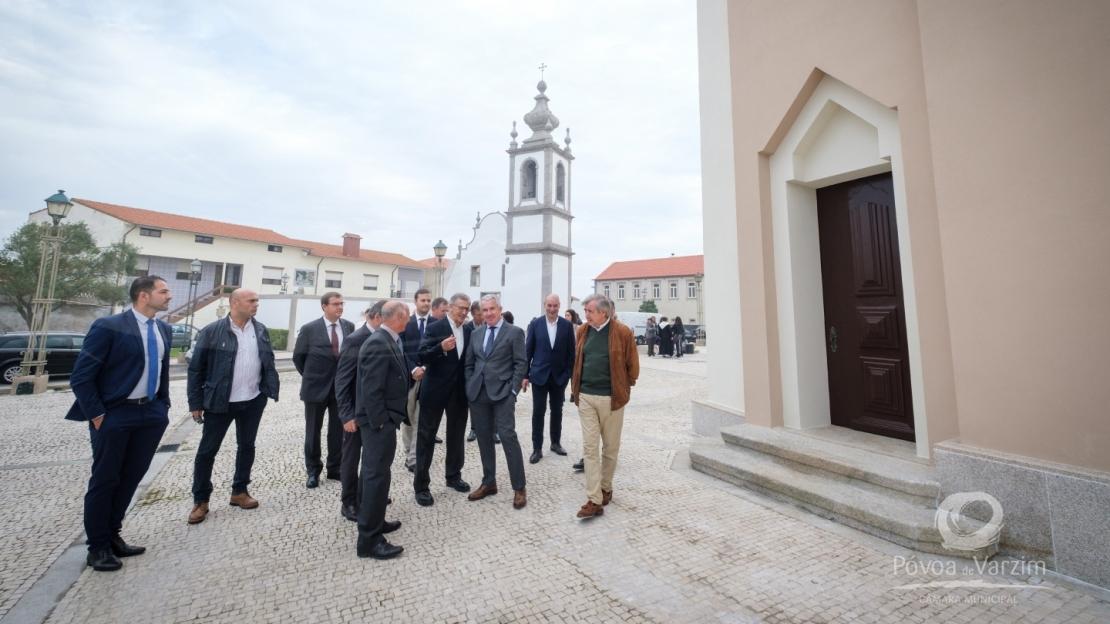 Inauguração das obras de reabilitação exterior da Igreja Paroquial de Aguçadoura 11