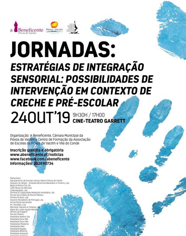 """Jornadas """"Estratégias de Integração Sensorial: Possibilidades de Intervenção em contexto de creche e pré-escolar"""""""