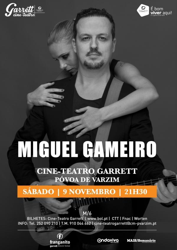 Miguel Gameiro no Cine-Teatro Garrett