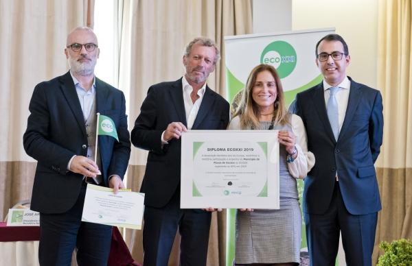 Póvoa de Varzim premiada com Galardão ECOXXI 2019