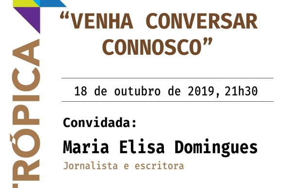 Maria Elisa Domingues em conversa no Museu Municipal