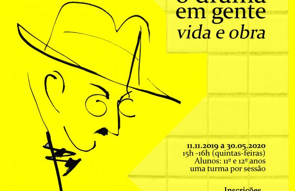 """Venha """"Revisitar Pessoa"""" na Biblioteca Municipal"""