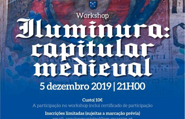 "Workshop ""Iluminura: capitular medieval"" - inscrições"