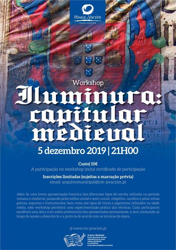 "Workshop ""Illuminura: Capitular Medieval"""