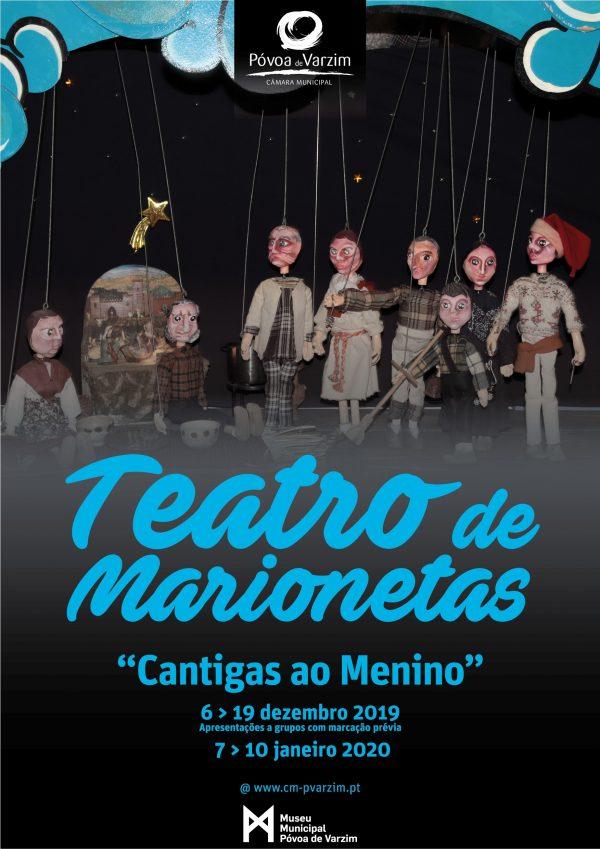 """Apresentação da peça de teatro """"Cantigas ao Menino"""""""