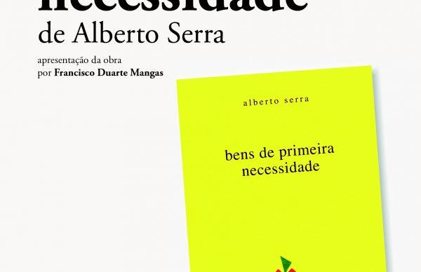 Novo livro de poesia de Alberto Serra apresentado na Póvoa