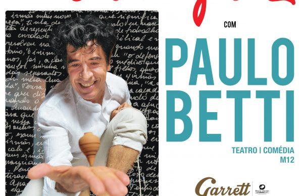 """Paulo Betti no Garrett com """"Autobiografia autorizada"""""""