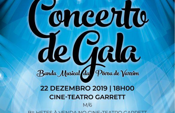 Banda Musical dá Concerto de Gala