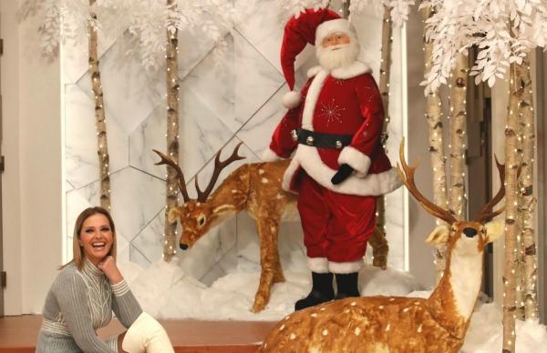 Empresa poveira decora Natal do Programa da Cristina