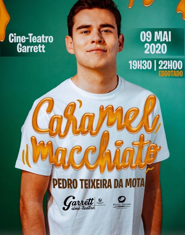 """Espetáculo de comédia """"Caramel Macchiato"""""""