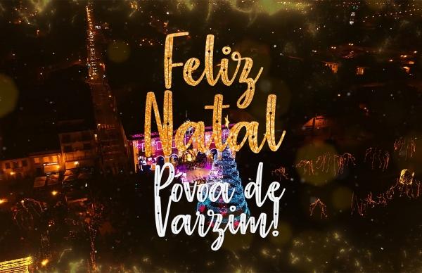 Feliz Natal e Bom Ano Póvoa de Varzim 2019