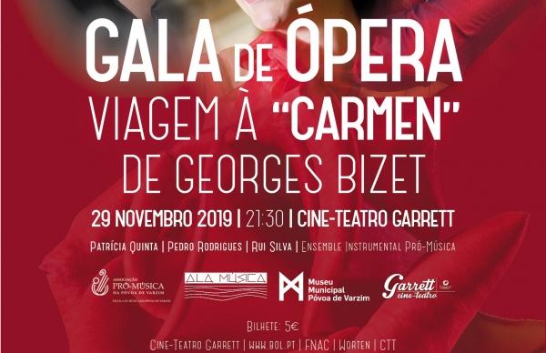 """Gala de Ópera Viagem à """"Carmen"""" no Garrett"""