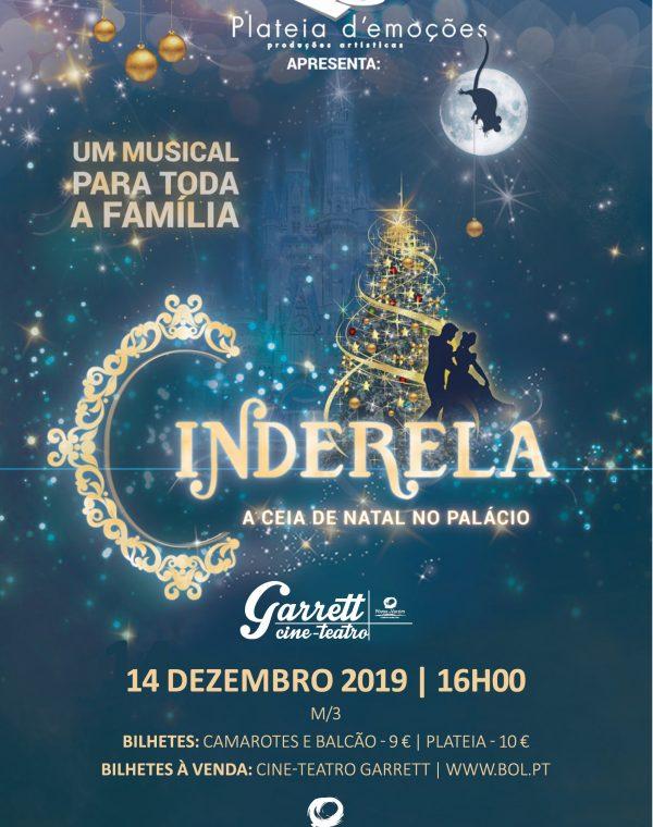 """Musical """"A cinderela: A ceia de Natal no Palácio"""""""