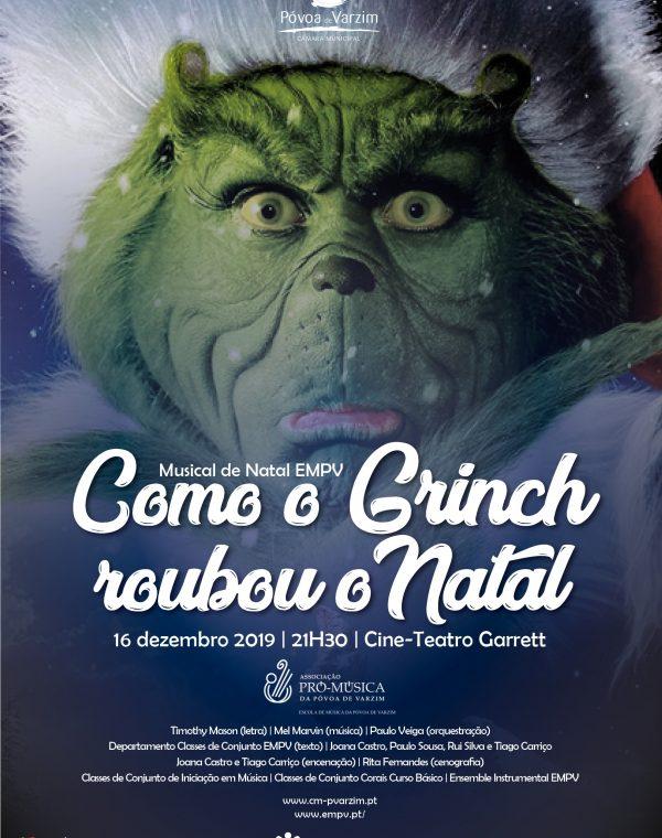 """Musical  """"Como o Grinch Roubou o Natal"""""""