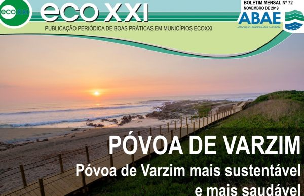 Póvoa de Varzim é o Município em destaque no Boletim Eco XXI