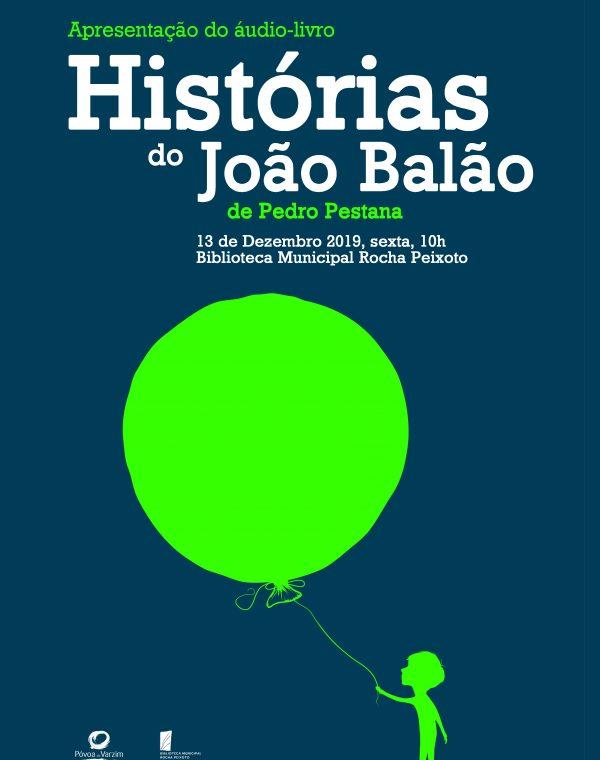 """Apresentação do áudio-livro """"Histórias do João Balão"""""""