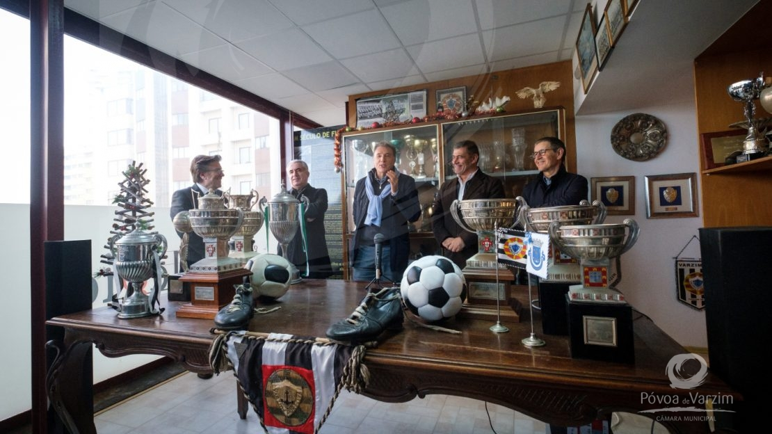Cerimónias protocolares do 104.° aniversário do Varzim Sport Club 6