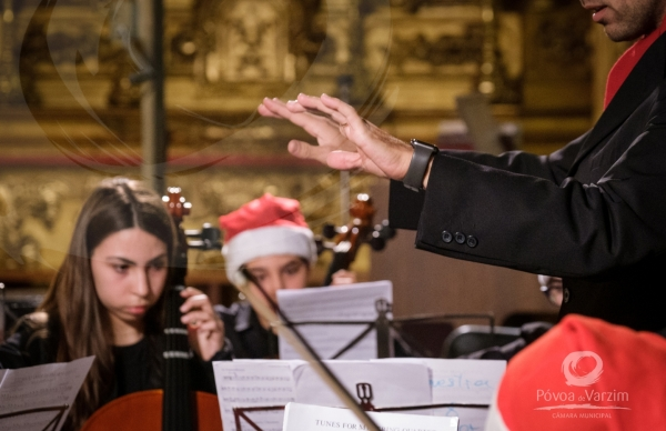 Classes de Conjunto da EMPV deram Concerto de Natal