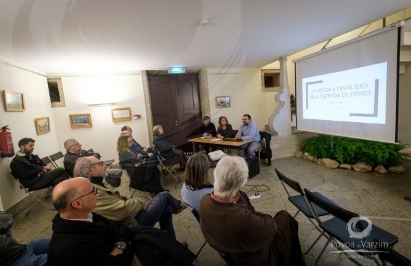Arquivo acolheu Conferência sobre a Antiga linha do caminho-de-ferro entre Famalicão e a Póvoa de Varzim