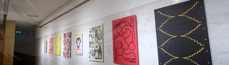 """Inauguração da exposição """"Língua Cega"""" 12"""