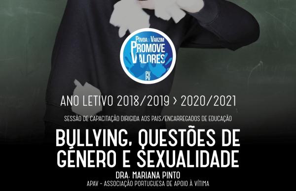 Bullying,questões de género e sexualidade dão mote a palestra