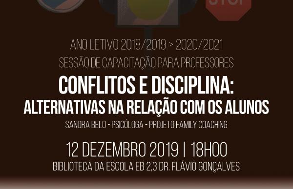 PVPV promove sessão sobre Conflitos e Disciplina